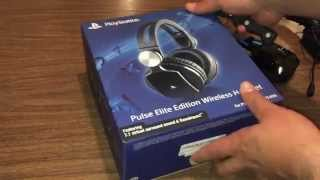 Pulse Elite Edition  Wireless  Headset For PS4 Unboxing