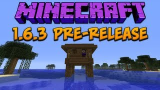 Minecraft: 1.6.3 Pre-Release Structures Bugfix