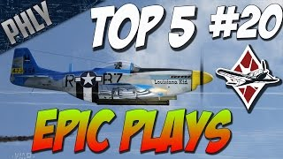 War Thunder Top 5 Epic Plays - AND HIS NAME IS JOHN CENA