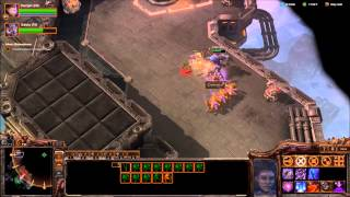 "TORRASQUE - Starcraft 2 Heart of the Swarm Brutal Playthrough Mission ""Death from Above"""