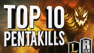 ® Top 10 Pentakills | October, 2015 (League of Legends)
