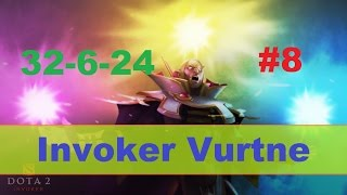 Dota 2 China Invoker Vurtne (Vol.8) | Dota 2 Gameplay