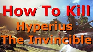 Borderlands 2 - Hyperius the Invincible Strategy Guide (Captain Scarlett DLC)