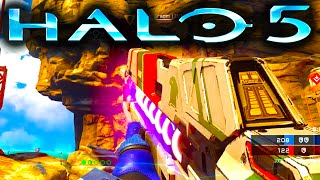 HALO 5 Gameplay | ESCAPE FROM ARC | Warzone 1080p 60fps (Halo 5: Guardians WARZONE)