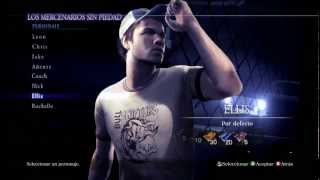 resident evil 6 mercenaries with ellis left 4 dead 2 gameplay