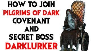 Dark Souls 2: How to Join Pilgrims of Dark Covenant and Find Secret Darklurker Boss