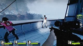 Left 4 Dead 2 - SaltHell Park Custom Campaign Multiplayer Gameplay Playthrough