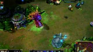 League of Legends - Poppy/Baron Nashor bug.