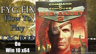 Command & Conquer: Red Alert 2 (Retail) Fix - Windows 10 / 8 / 8.1