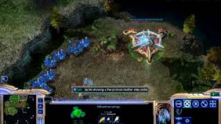 starcraft 2 protoss mother ship vortex