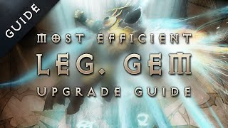 Diablo 3: Reaper of Souls - Patch 2.1 Fastest Legendary Gem Upgrade Guide