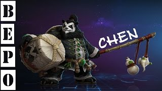 Heroes of the Storm. Игра Ченем! ( Chen)