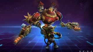 Heroes of the Storm | PvP Gazlowe - Boss of Ratchet