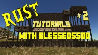 Rust Game Tutorials with Blessed5500 - Explosives and Metal - Tutorial # 2