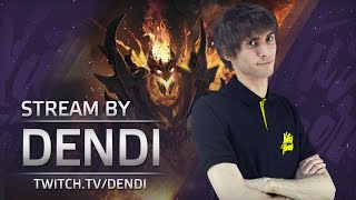 Dota 2 Stream: Na`Vi Dendi - Shadow Fiend (Gameplay & Commentary)