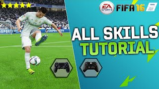 FIFA 16 ALL SKILLS TUTORIAL + SECRET SKILLS & New Skills / XBOX & PLAYSTATION
