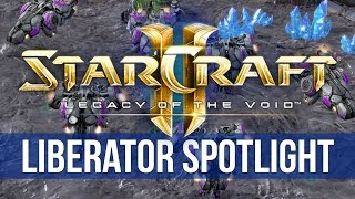 StarCraft 2: Legacy of the Void - Liberator Spotlight! (4K)