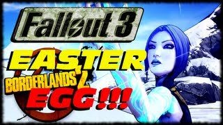 Borderlands 2 Fallout 3 Three Dog Easter Egg Gun Reference!!! Assassinate The Assassins (1080p)
