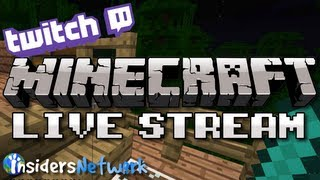 Minecraft Live Stream Replay: Farming XP, Enchanting Books