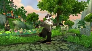 World of Warcraft: Dance Studio - Female Pandaren Dance on Female Characters