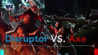 DOTA 2 Rap Battle! Disuptor VS Axe!