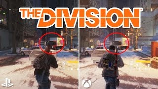 Tom Clancy's The Division Graphics Comparison Xbox One vs PS4 vs PC