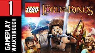 LEGO The Lord of the Rings Walkthrough - Part 1 Prologue Let's Play PS3 XBOX PC Gameplay Commentary