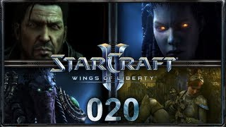 "Let's Play ""StarCraft 2 - Wings of Liberty"" - #020 - ""Schlund der Leere"" [Deutsch/HD]"
