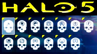 HALO 5 | ALL SKULL LOCATIONS (Halo 5 Guardians Skulls)
