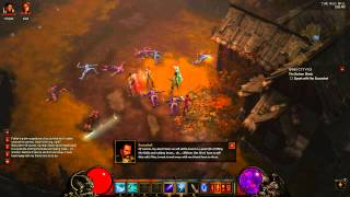 #7 Let's Play DIablo 3 Wizard   Follower The Scoundrel And The Quest Drowned Temple