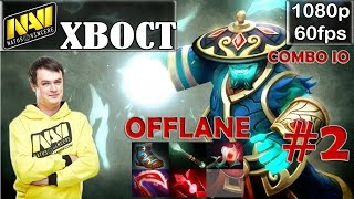 XBOCT (Na'Vi) - Storm Spirit Offlane COMBO with IO | Dota 2 Pro MMR Gameplay #2