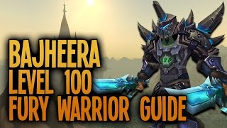 Warlords of Draenor - 6.0.3 Level 100 Fury Warrior PvP Guide: Stats, Spec, Macros & Rotation