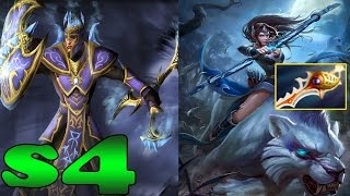 Dota 2 - s4 Plays Silencer And Mirana - Ranked Match Gameplay!