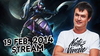 Dota 2 Stream: Na`Vi XBOCT - Luna (Gameplay & Commentary)