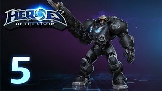 Heroes of the Storm: Jim Raynor - Gameplay #5 (w/ 4 man team)