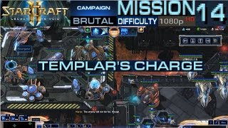 Starcraft 2 Legacy of The Void Campaign Mission 14 Templar's Charge Brutal Difficulty HD 1080p